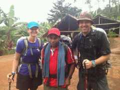 kokoda trail April 2012