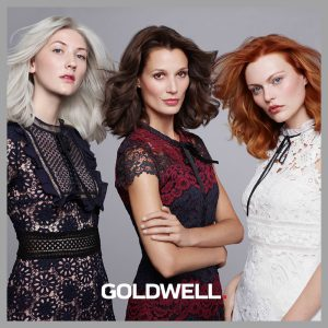 Goldwell colour styling model shot