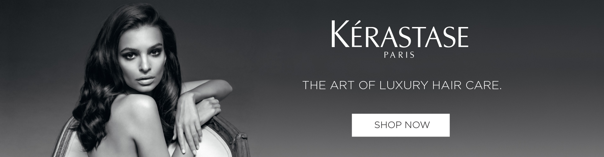 Kerastase Website Header