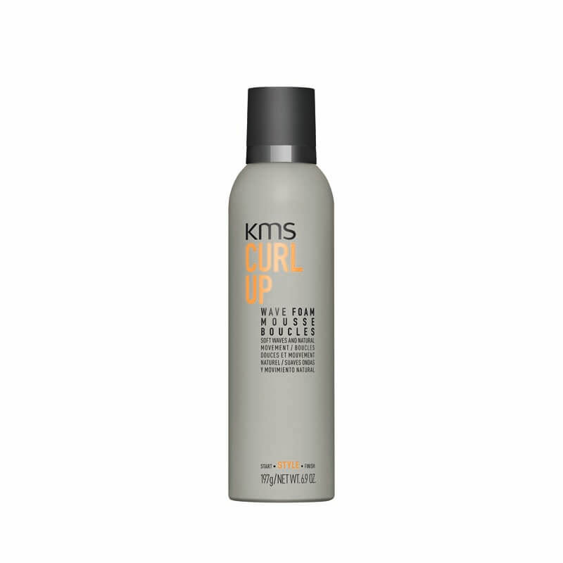 KMS CurlUp_Wave Foam_200mL