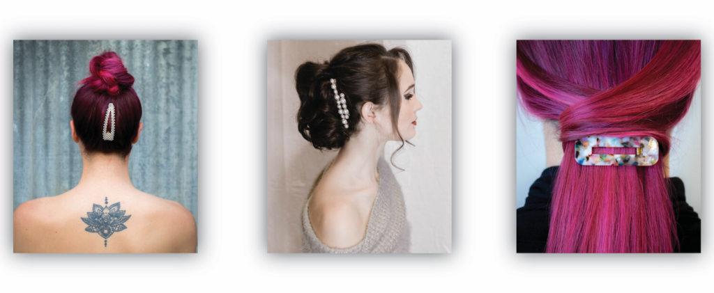Barrette style clip accessories