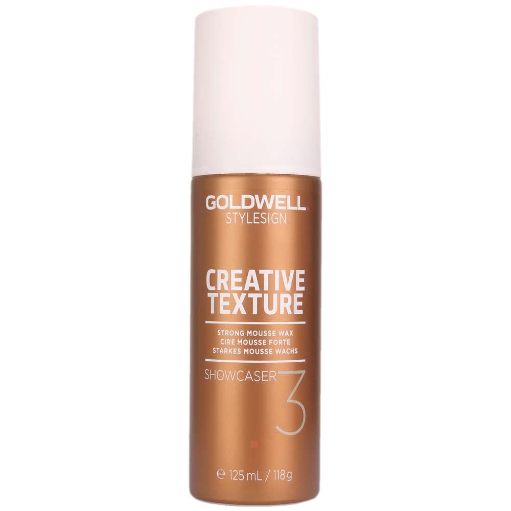 Goldwell_Stylesign_Creative_Texture_Showcaser_3_Strong_Mousse_Wax_125ml_-_The_Hair_Hub_ml