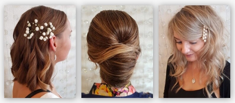 Deb hairstyles with accessories