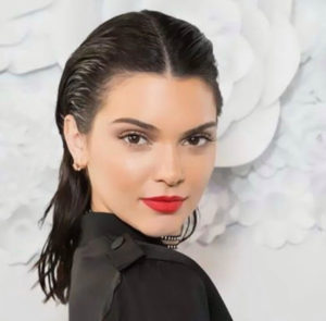 Kendall Jenner Slick back hairstyle