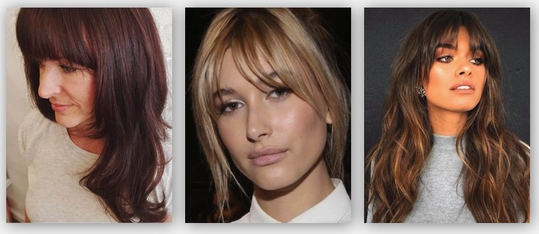 Hairstyles with fringe or bangs