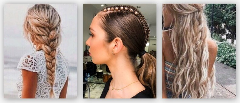 Braided hairstyles for Summer 2020
