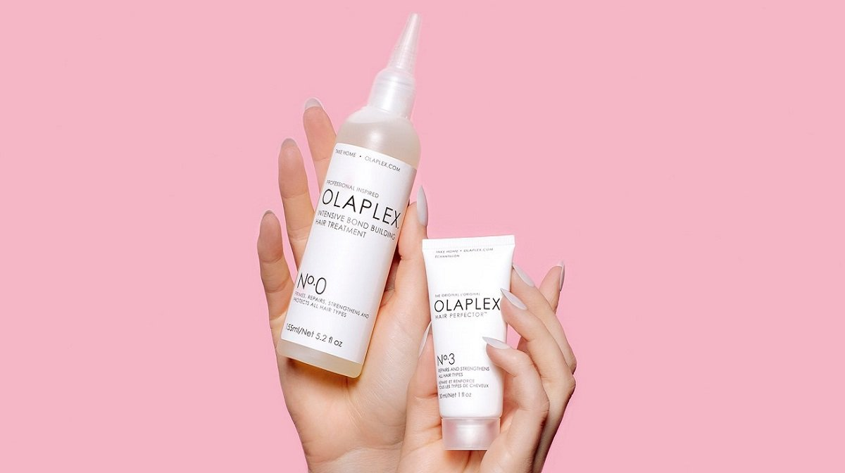 Olaplex No.0 and No.3 hair treatments