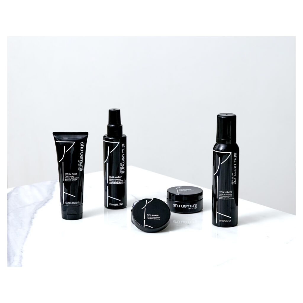 Shu Uemura Art of Hair Styling Products